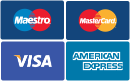 We allow payments with card