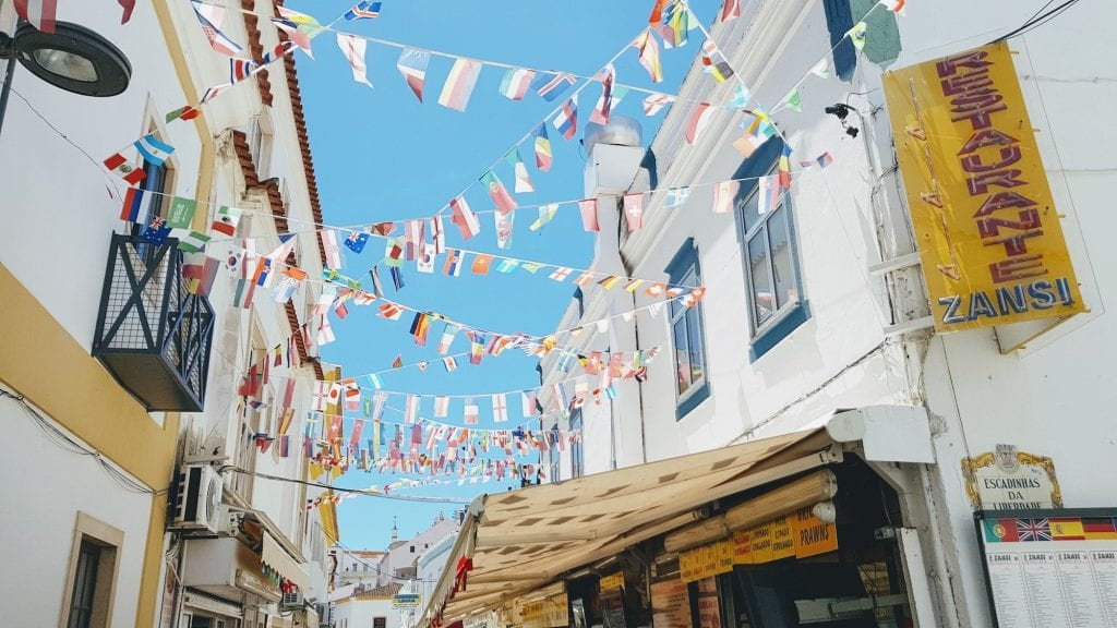 Albufeira's downtown is still rather cute