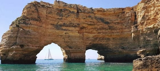 Benagil Grottenfahrt
