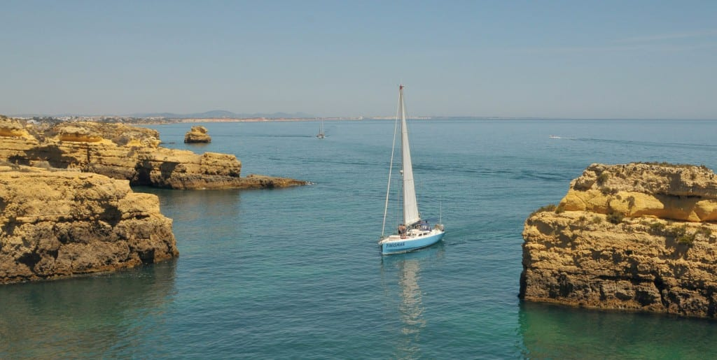 Albufeira things to do: sailing tour