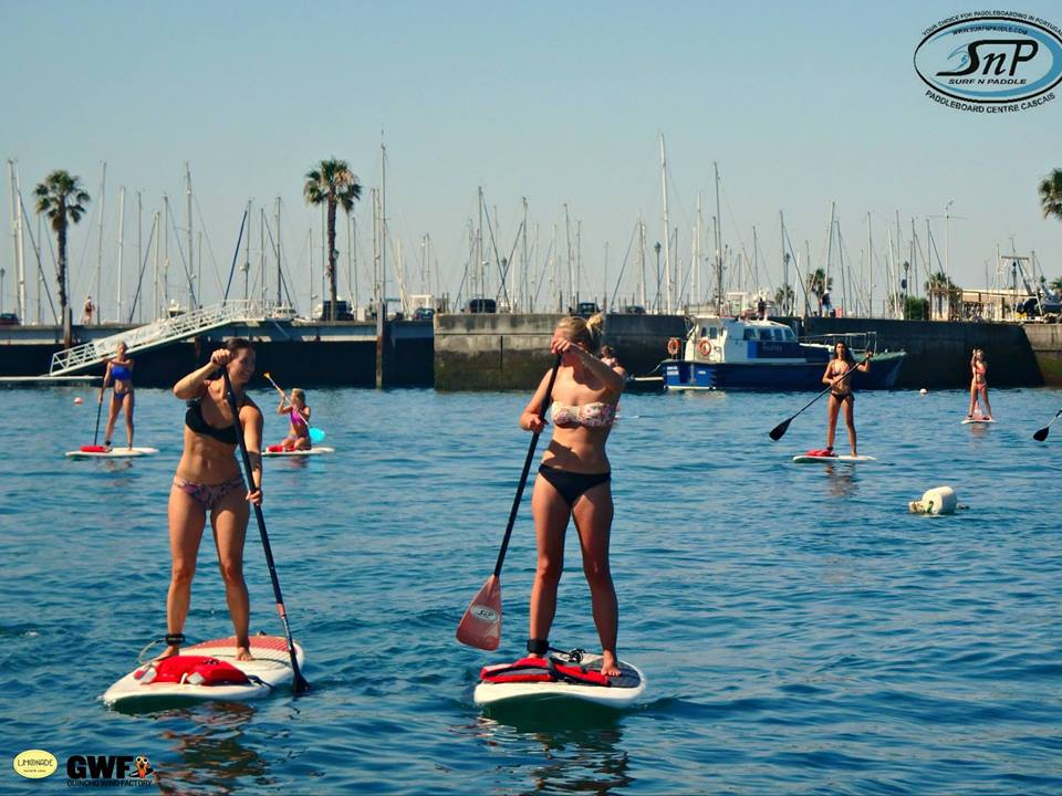 SUP Tour in Lisbon