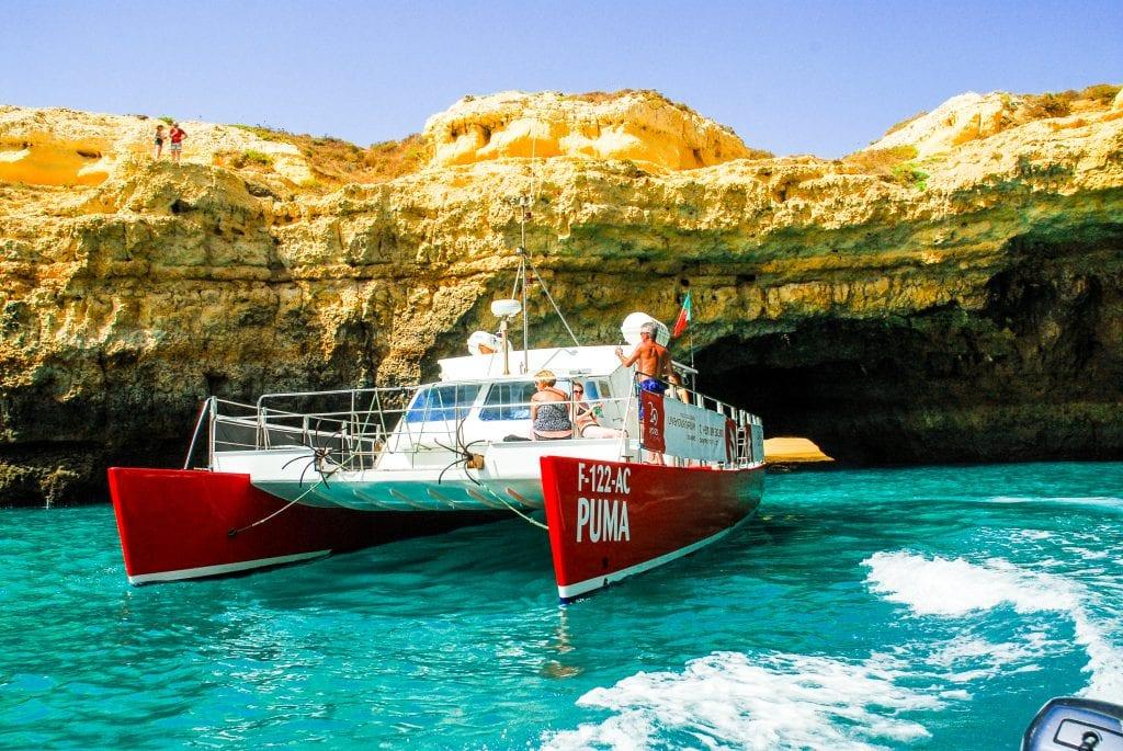 BBQ cruise in Vilamoura to Benagil