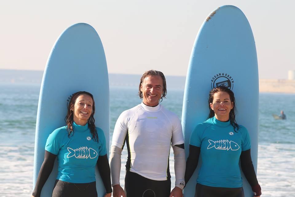 surfing in Matosinhos