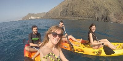 Kayaking in Tenerife