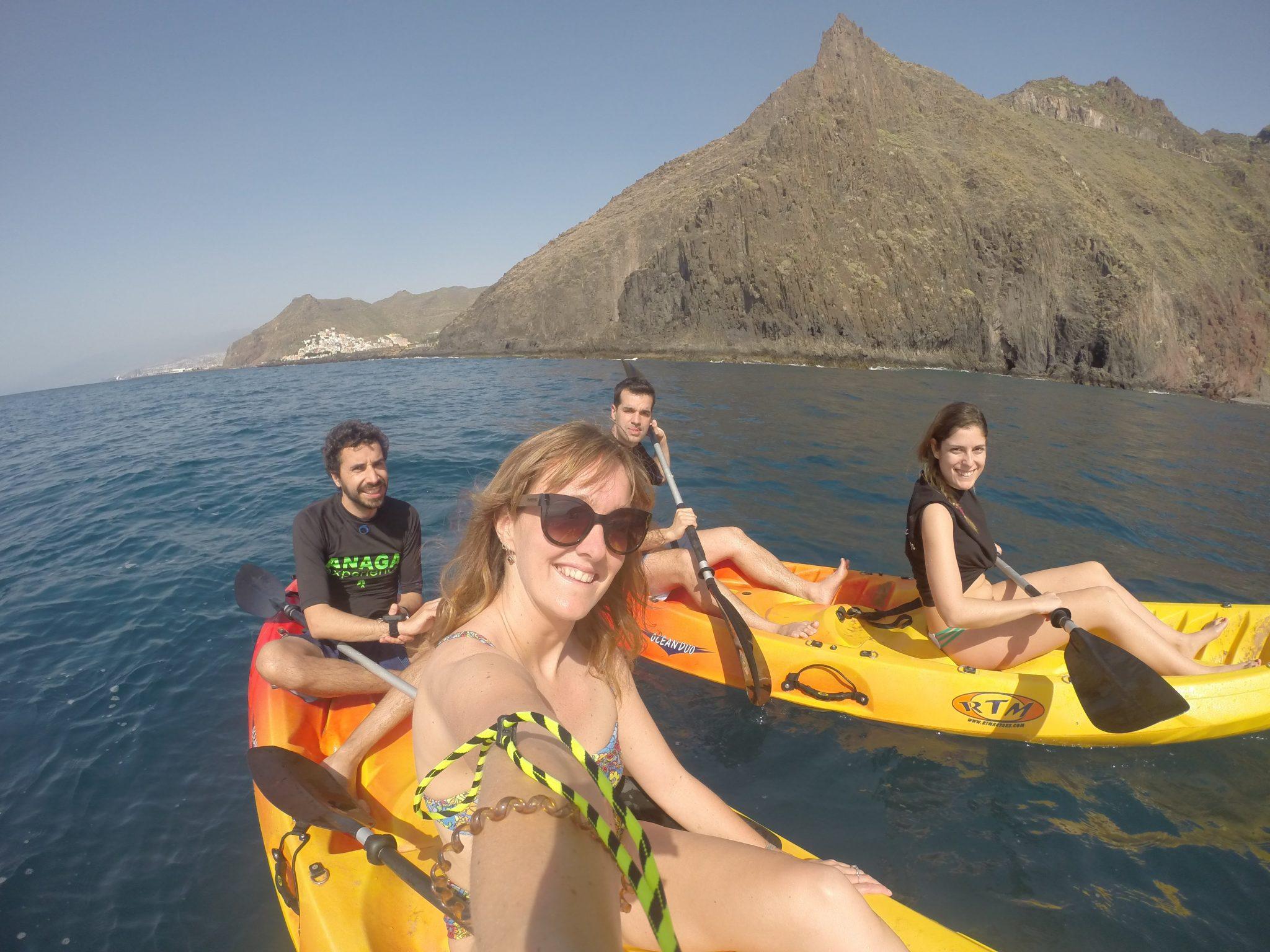 Kayaking in Tenerife