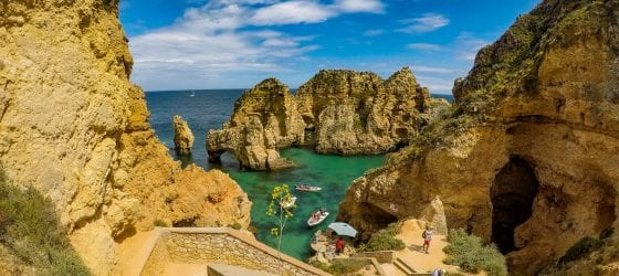 boat tour to Benagil and Ponta da Piedade How to get around in the Algarve pic by João Coelho