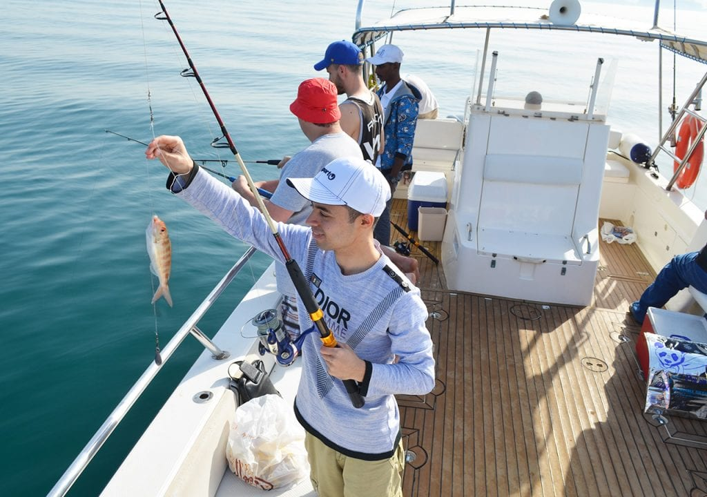Full day fishing charter in Dubai