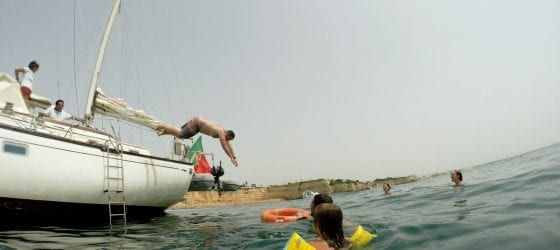 sailing excursion in Albufeira
