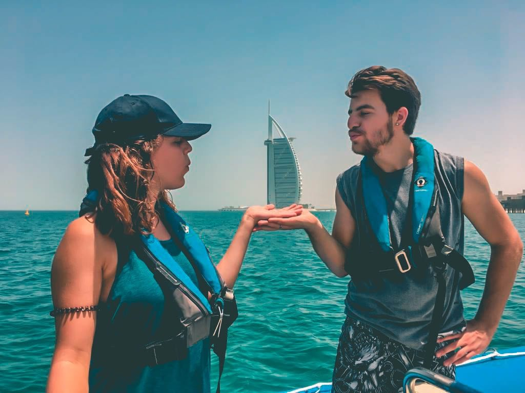 On a private boat, you can also make this excursion a romantic one ;)