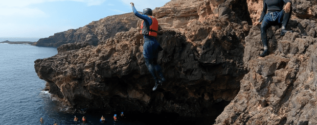 Coasteering in the Algarve!