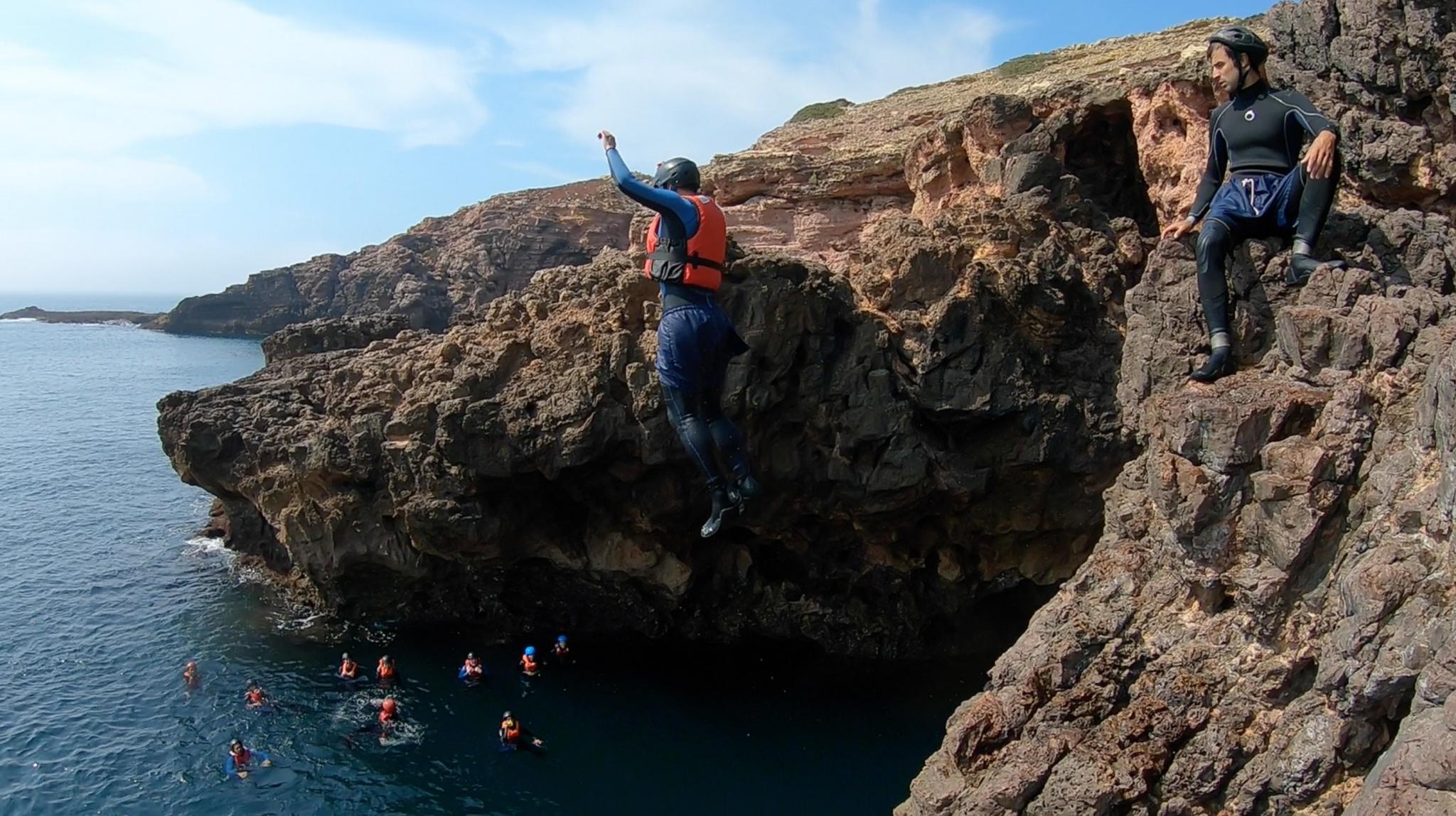 Coasteering in the Algarve!