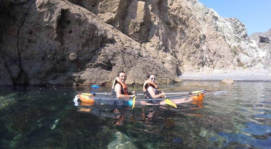 kayak en Almería caiaque em Almería kayak in Almería