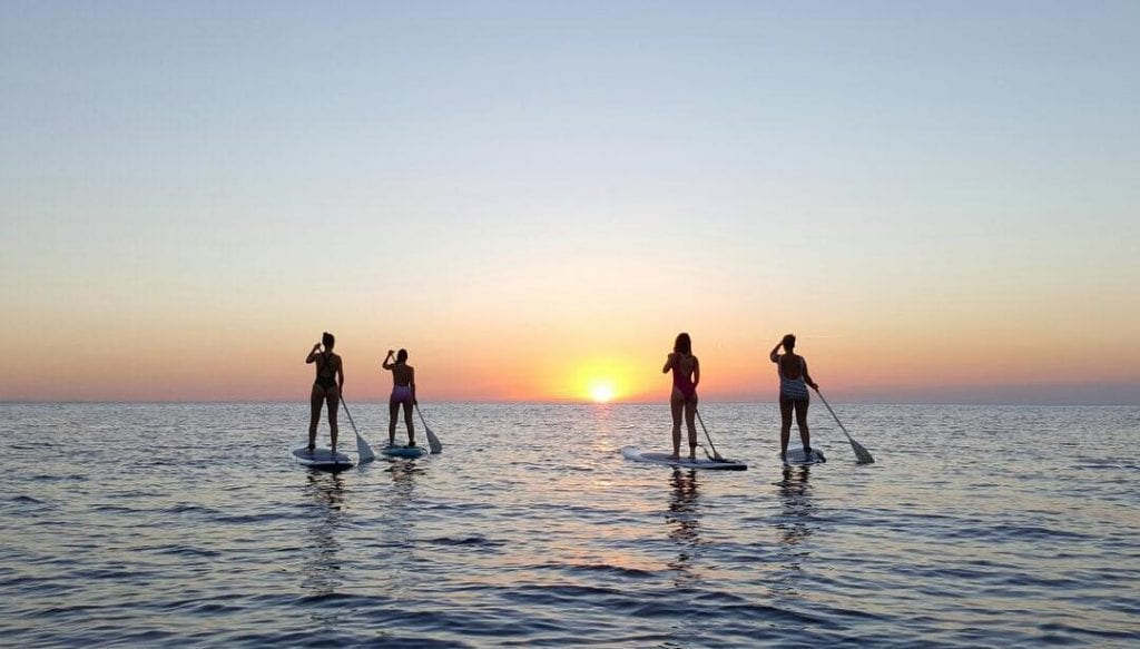 SUP can be done on Ibiza during Winter too!