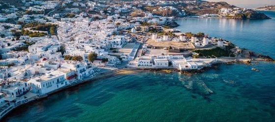 The best boat tours for groups in Mykonos