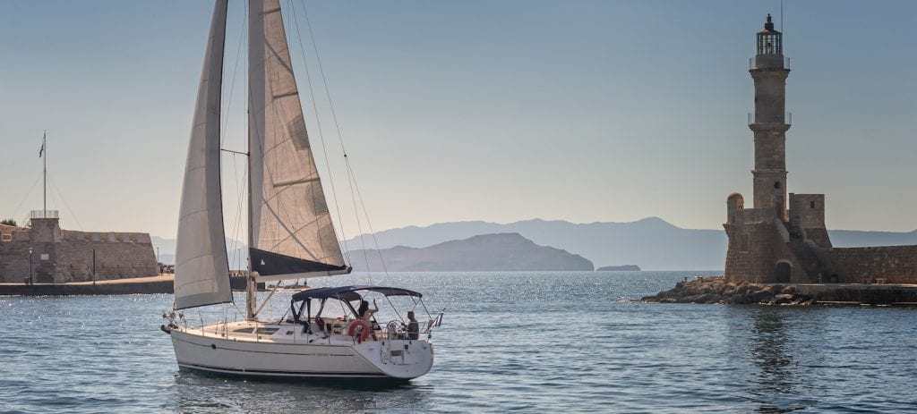 Sailing is always a romantic idea