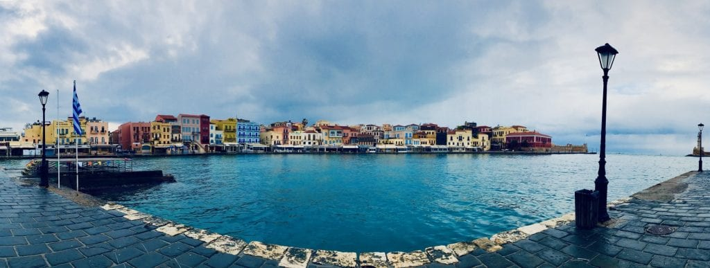 Gotta love the colors of Chania!