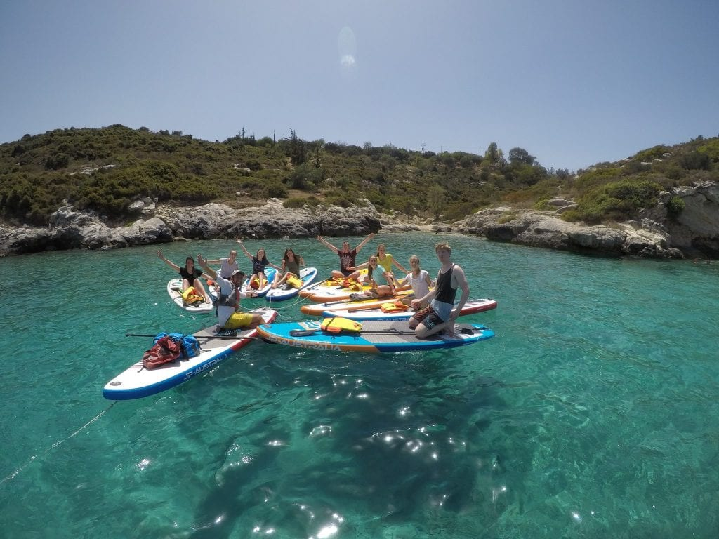 Enjoy the warm waters around Crete