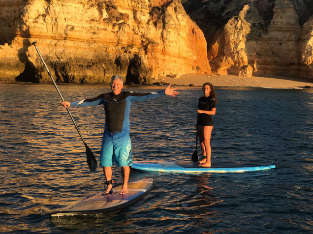 Stand-up paddle is a favorite for environmentally-conscious travelers