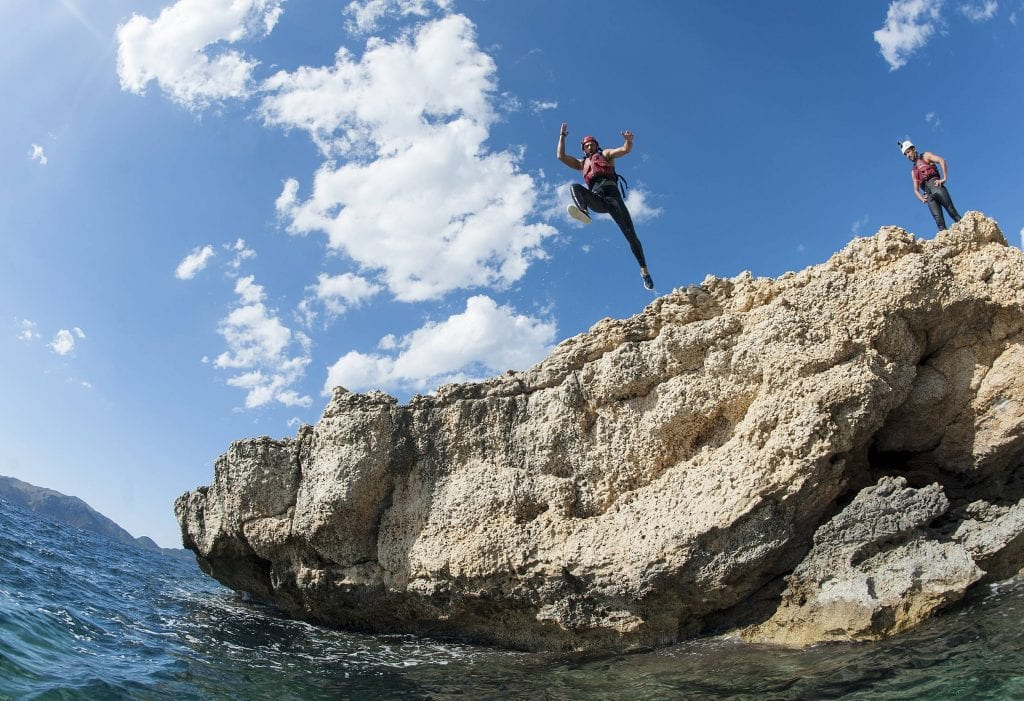 Coasteering is ideal for nature lovers