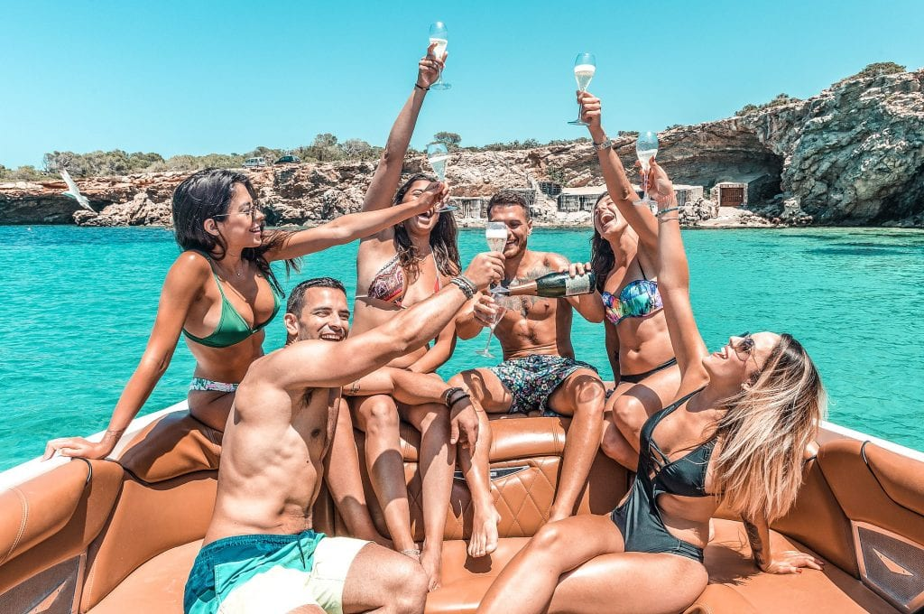 Book a private boat party!