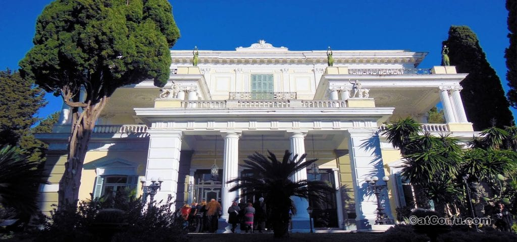 Discover the Palace of Sissi in Corfu