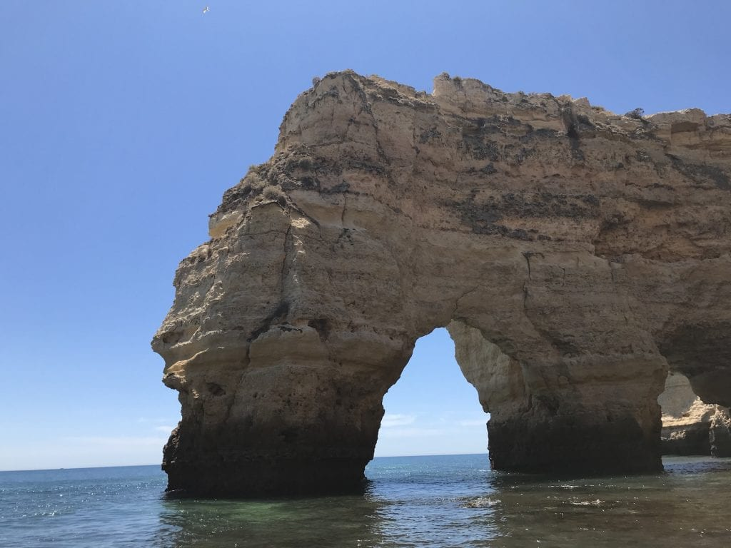 The arches of Marinha are worth a visit