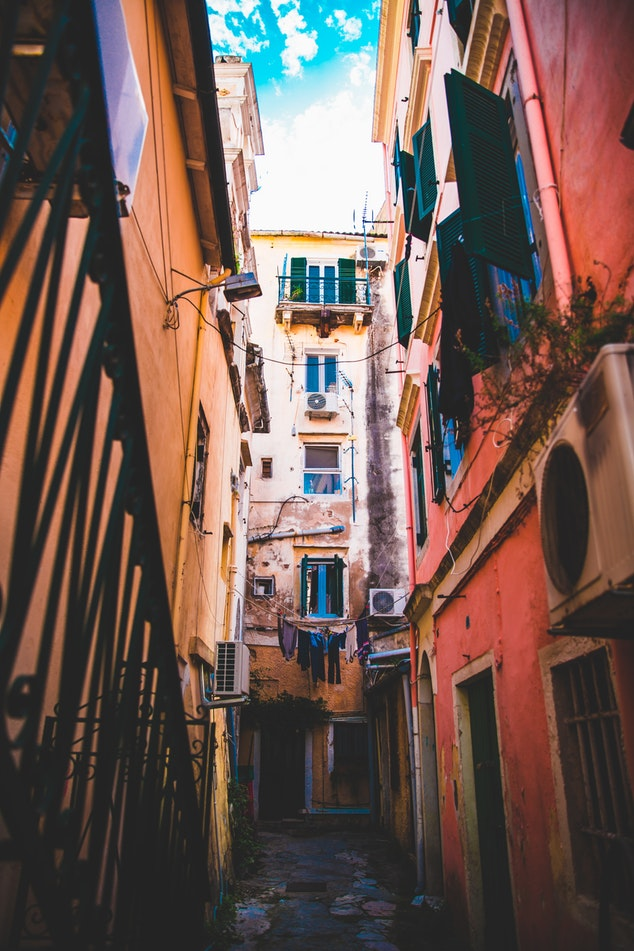 Discover Corfu's cute alleys