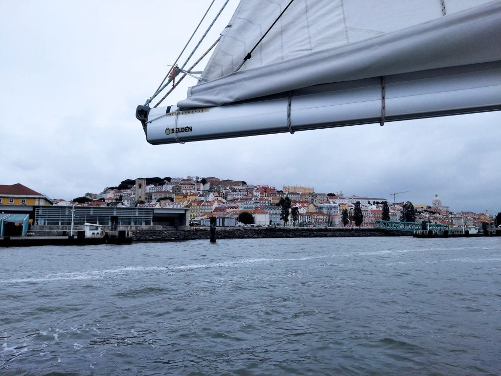 Unique views from the Tagus River