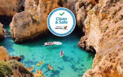 Clean Safe SeaBookings Veilig op vakantie in Portugal