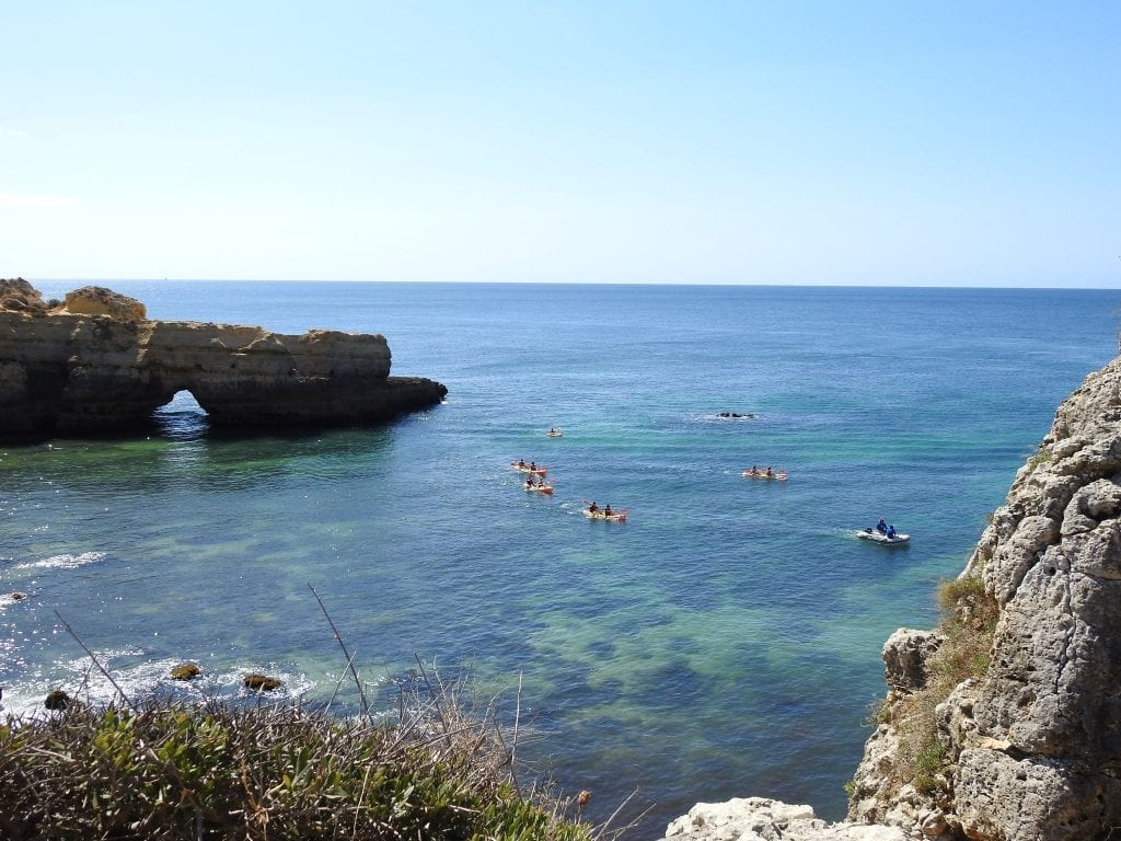 Kayak tour in Albufeira