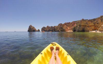 Visit Algarve kayak tour in Lagos
