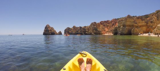 Visit Algarve kayak tour in Lagos