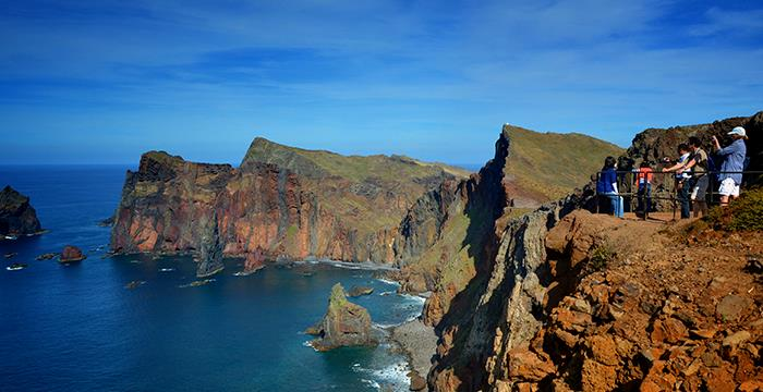 You'll be impressed by Madeira's lush landscape