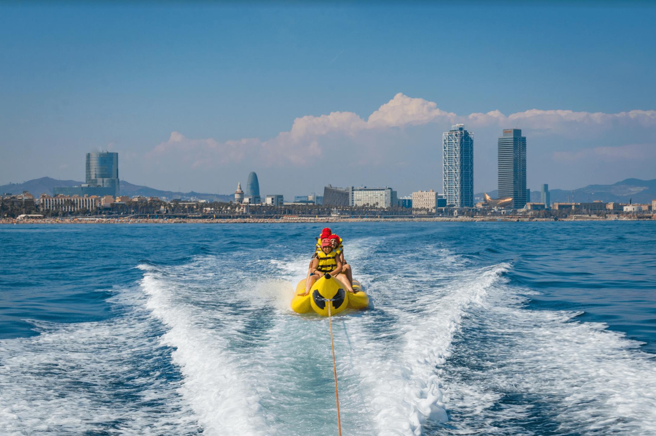 Best watersports in Barcelona
