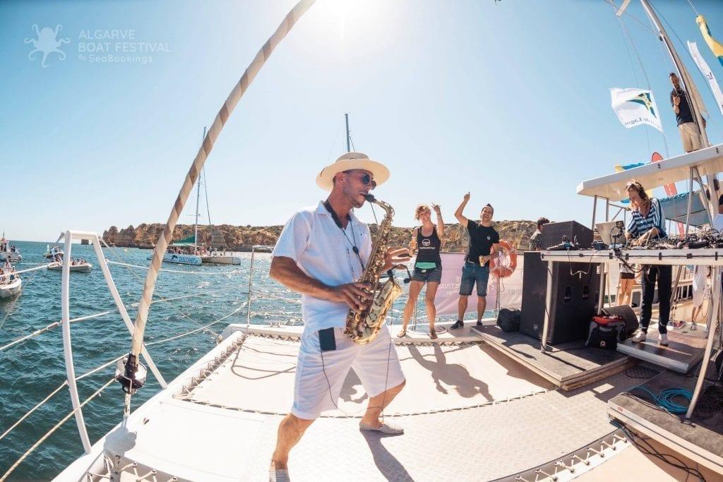 Algarve Boat Festival Saxofone