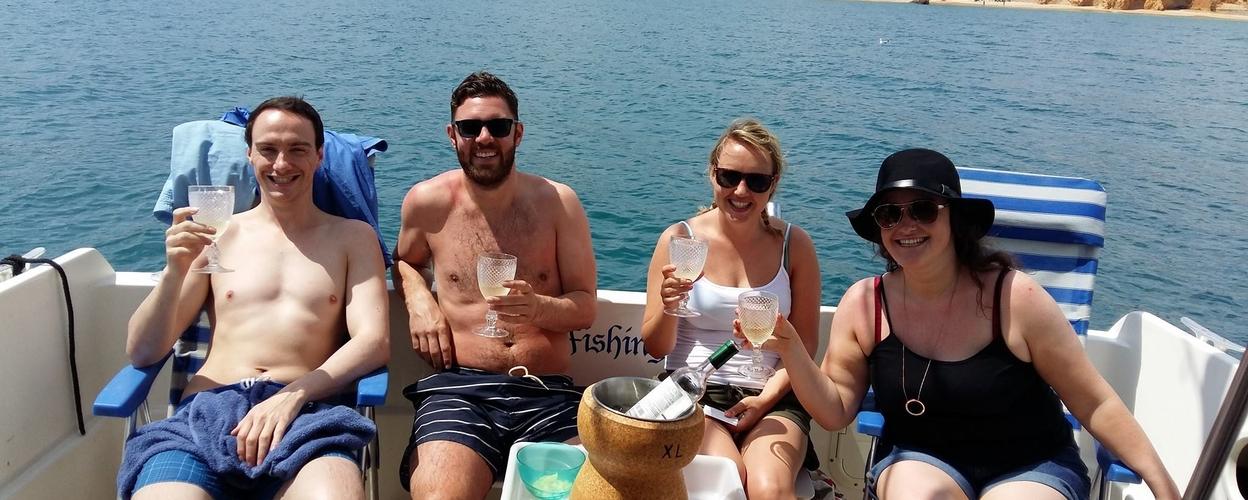 Cover for Wine tasting boat tour in Alvor