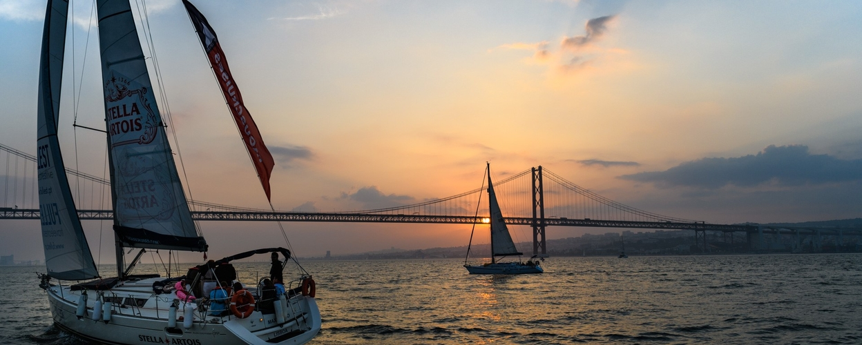 Cover for Sunset sailing in Lisbon