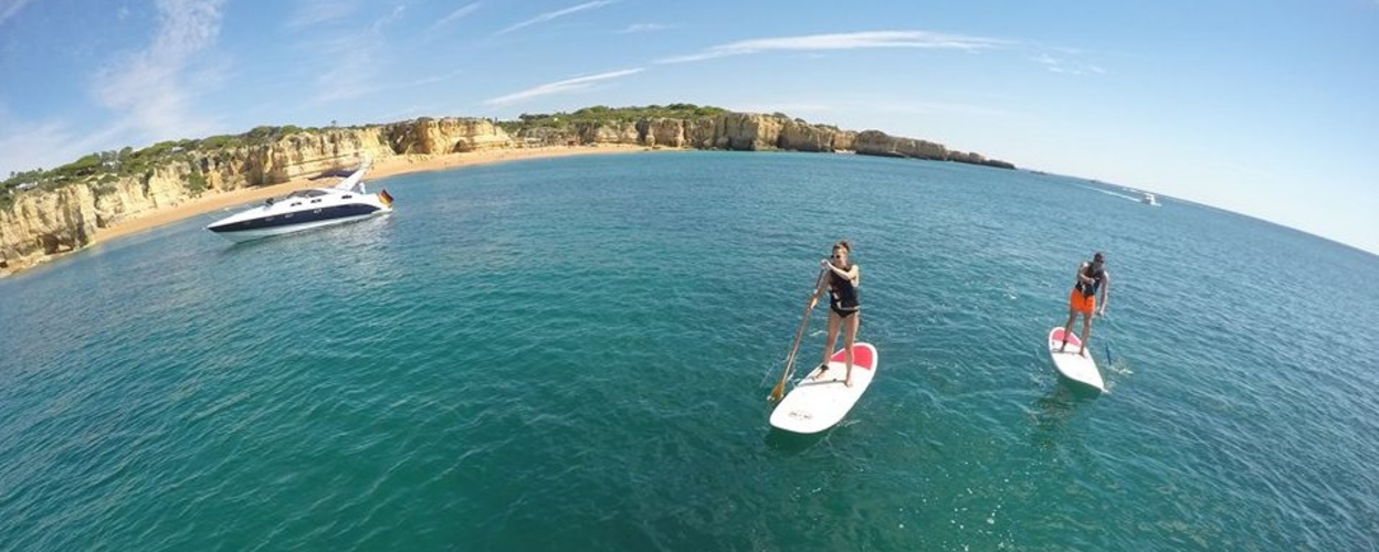 Cover for SUP tour in Albufeira - Galé
