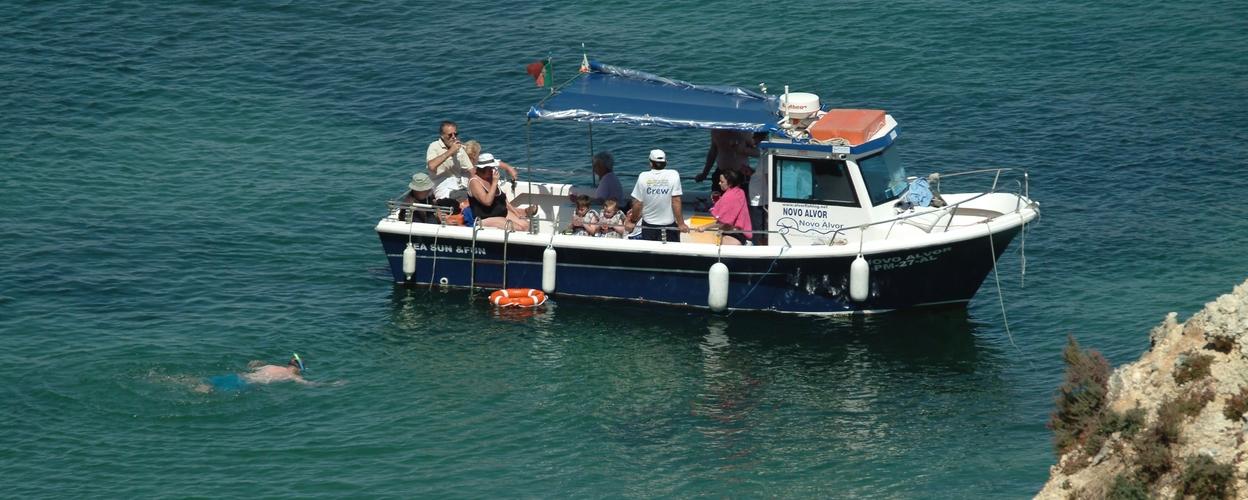 Cover for Fun boat tour in Alvor