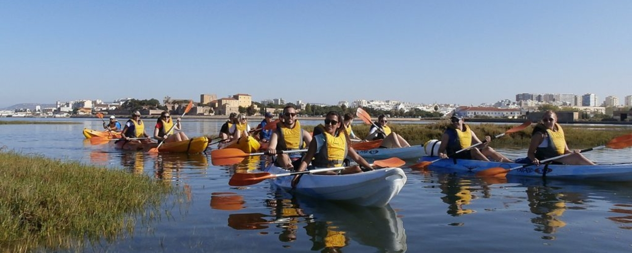 Cover for Kayaking in Faro to Ria Formosa