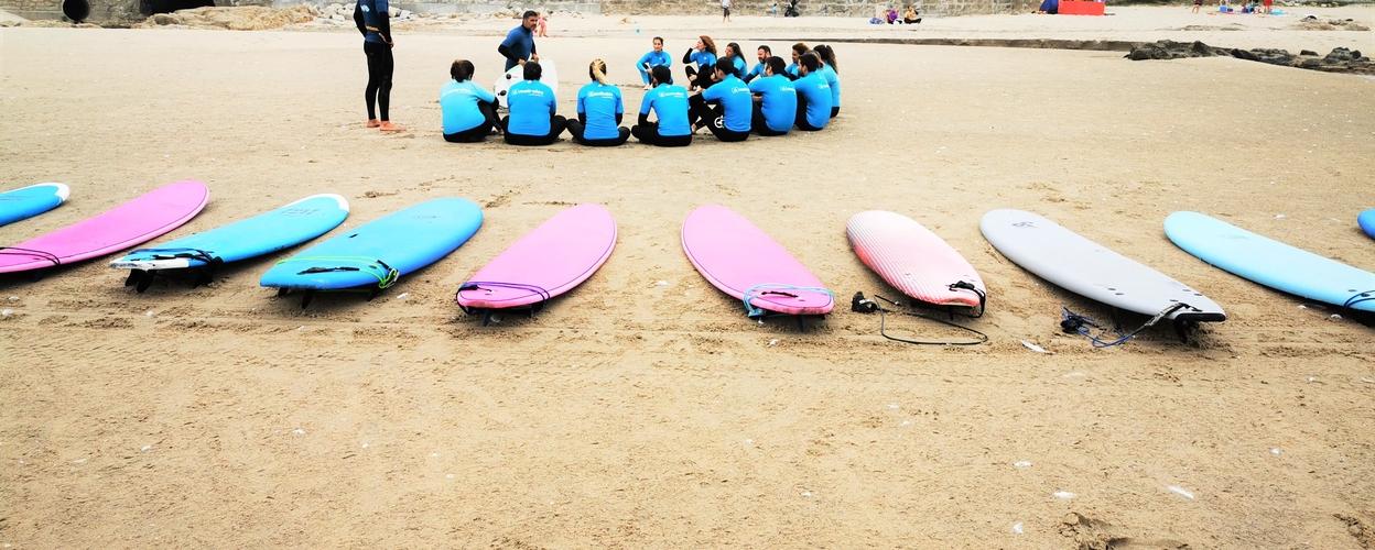 Cover for Matosinhos surf lesson