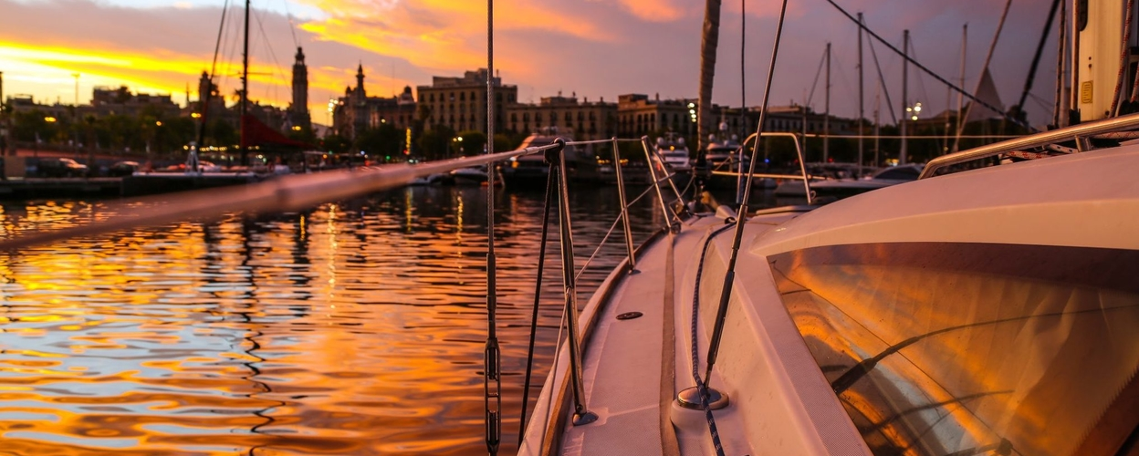 Cover for Private sunset sailing tour in Barcelona