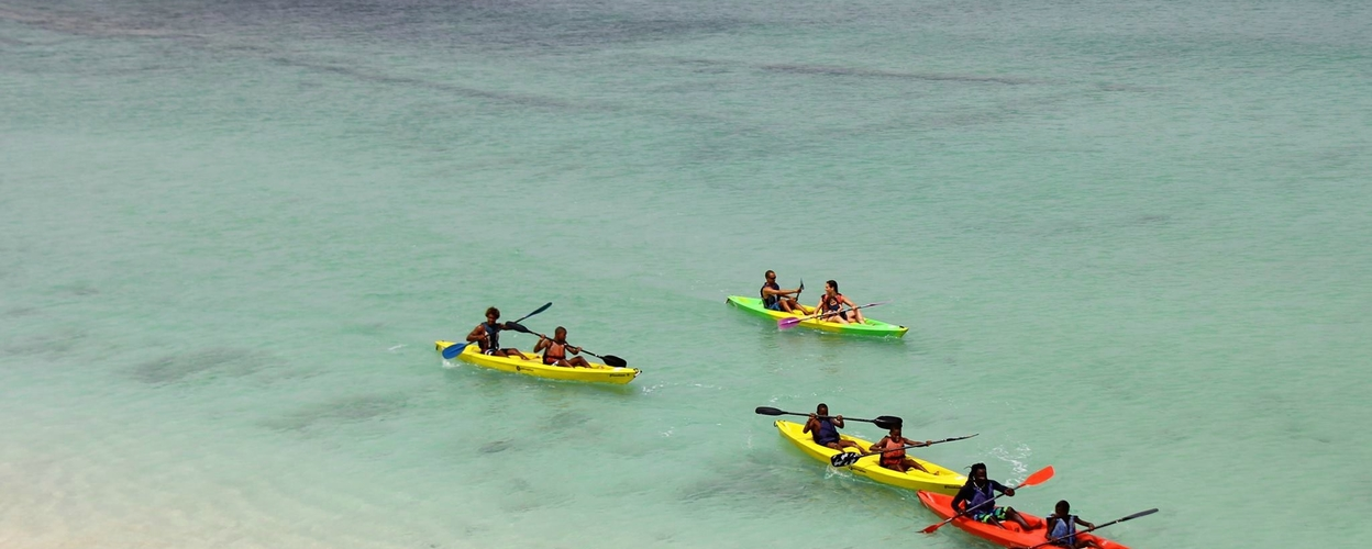 Cover for Excursion by kayak in Boa Vista
