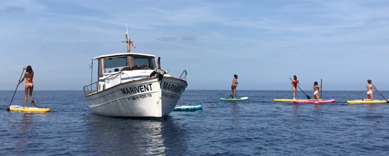 Cover for Boat and SUP tour to Es Vedra