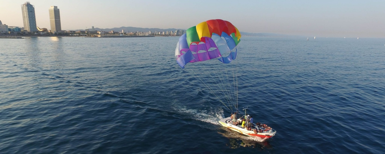 Cover for Parasailing in Barcelona