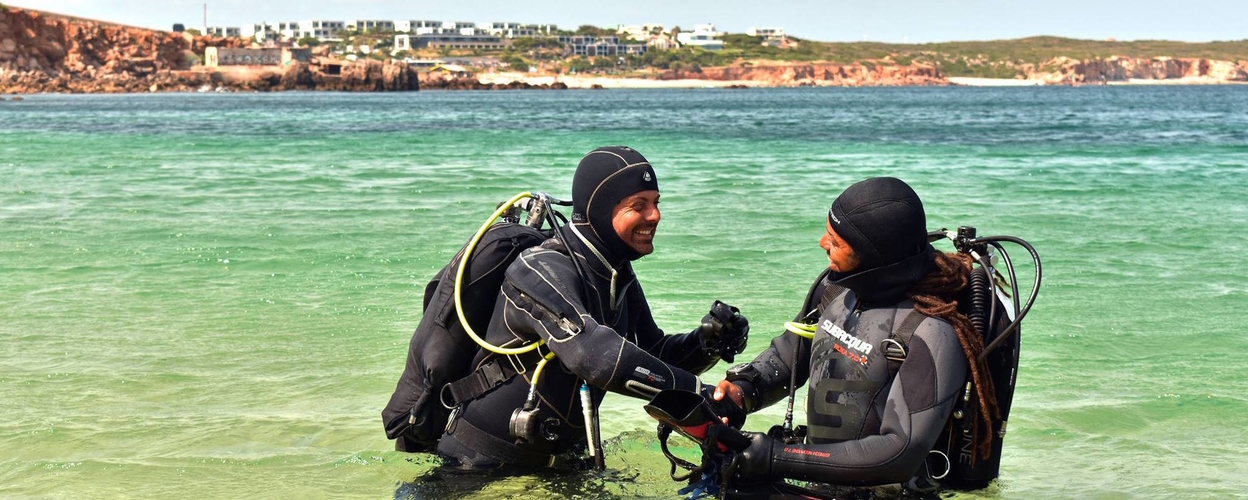 Cover for First time diving in Sagres