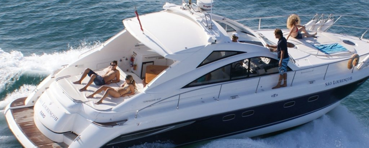 Cover for Yacht charter in Vilamoura - sunset