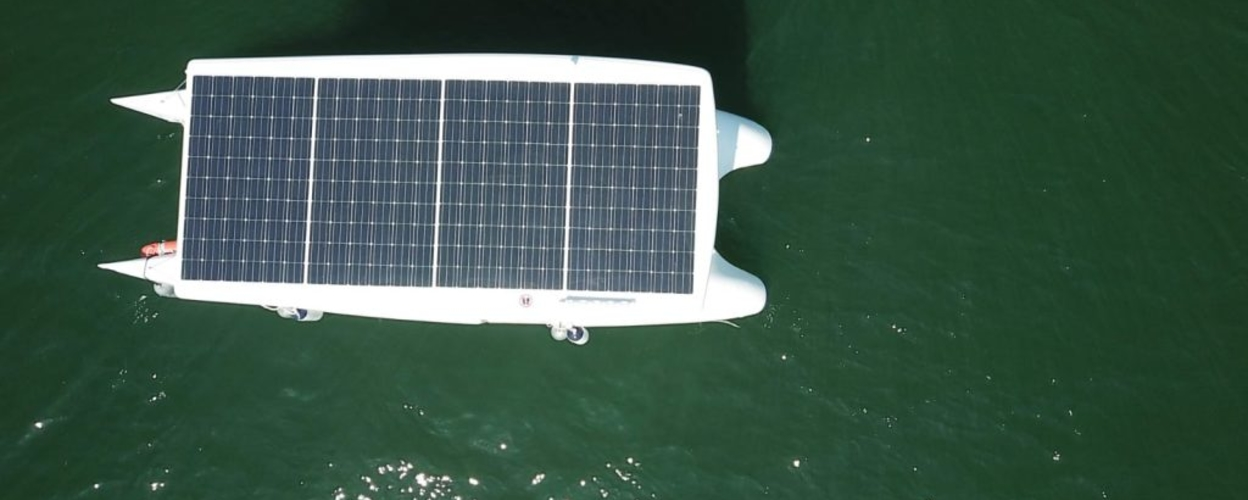 Cover for Private sunset solar boat tour in Lisbon