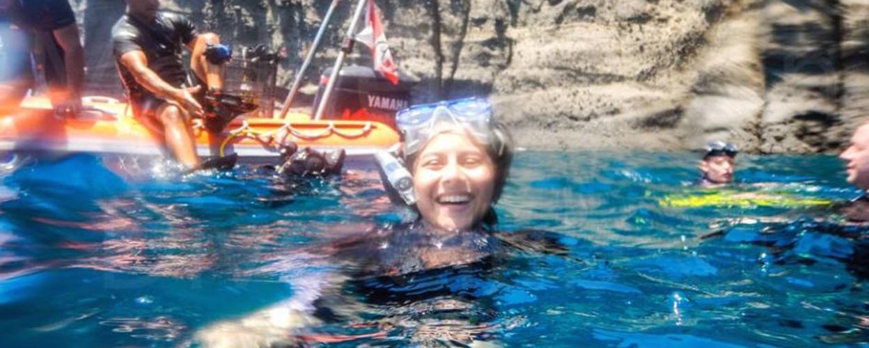 Cover for Snorkeling Santorini