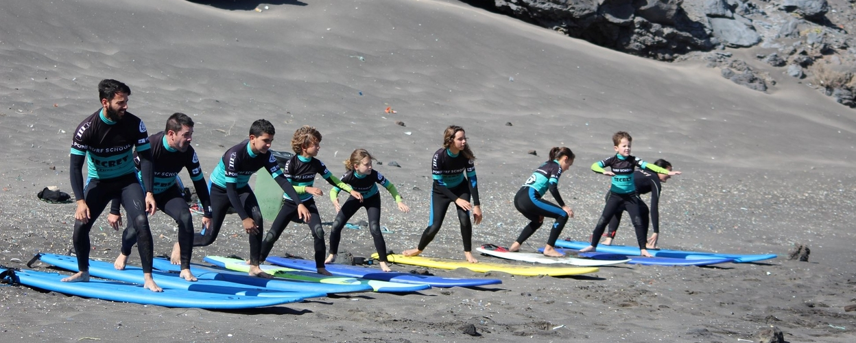 Cover for Learn surfing in Tenerife